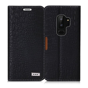 Samsung S9 Plus Crocodile Pattern Case