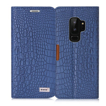 Load image into Gallery viewer, Samsung S9 Plus Crocodile Pattern Case