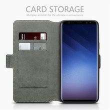 Load image into Gallery viewer, Samsung S9 Plus Premium Leather Case