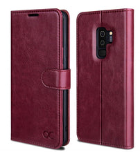 Load image into Gallery viewer, Samsung S9 Plus Wallet Leather Case