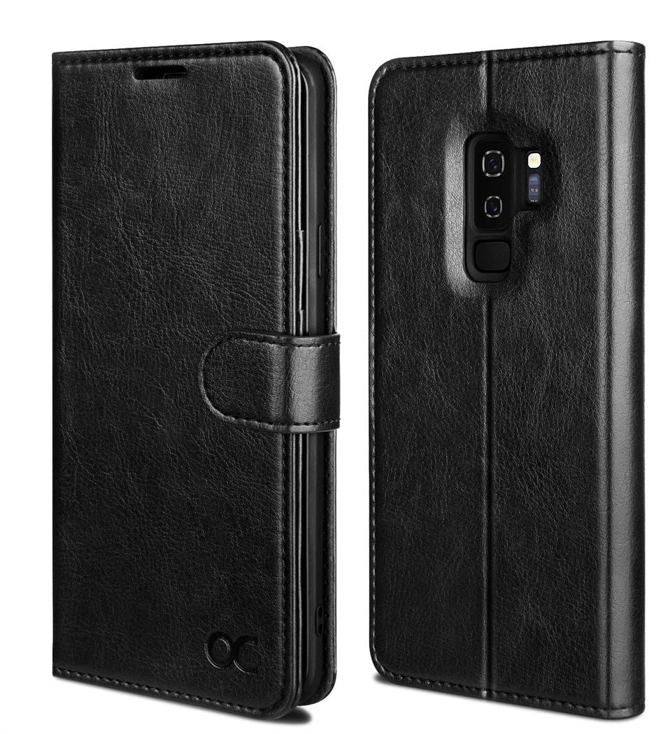 Samsung S9 Plus Wallet Leather Case
