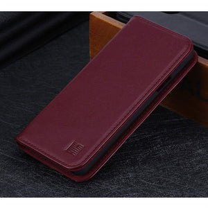 Samsung S9 Real Leather Case