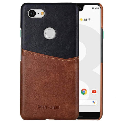 Google Pixel 3XL Vintage Leather Case