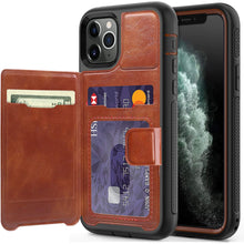 Load image into Gallery viewer, iPhone 11 Pro Case Wallet Leather