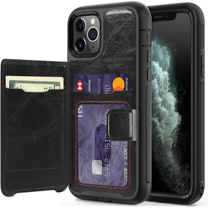 iPhone 11 Pro Case Wallet Leather