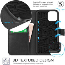Load image into Gallery viewer, iPhone 11 Pro Case Leather Wallet