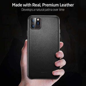iPhone 11 Pro Max Case Real Leather