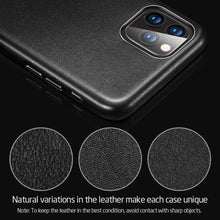 Load image into Gallery viewer, iPhone 11 Pro Max Case Real Leather