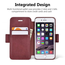 Load image into Gallery viewer, Best iPhone 8 Leather Wallet Case - Free Next Day Delivery