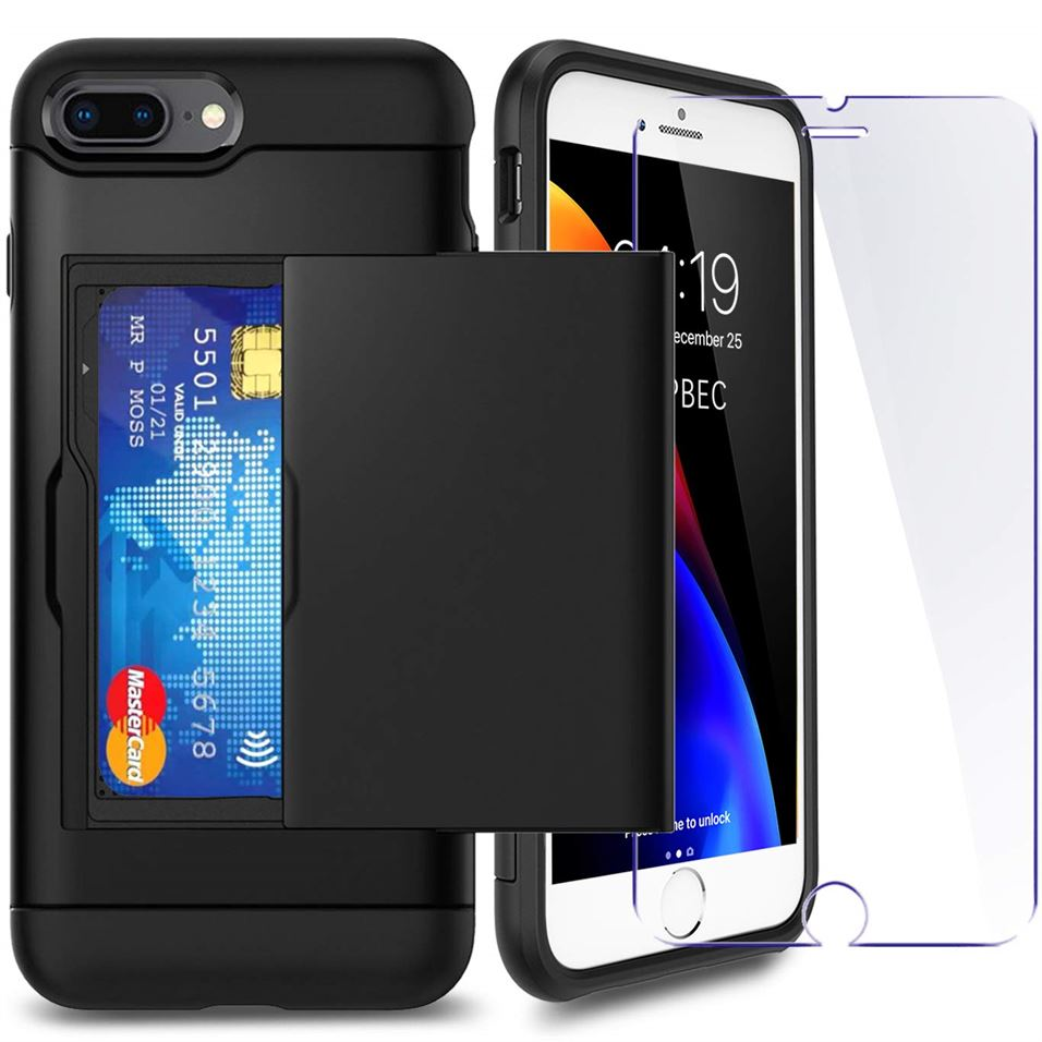 Best iPhone 8 Plus Hidden Wallet Case - Free Next Day Delivery