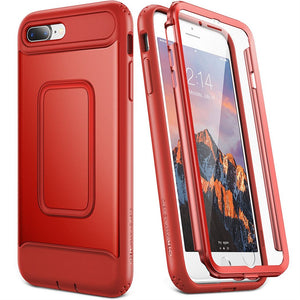 iPhone 8 Plus Red Shockproof Case