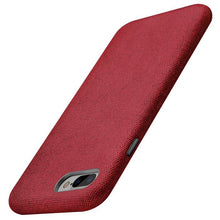 Load image into Gallery viewer, Best iPhone 8 Plus Red Texture Case - Free Next Day Delivery