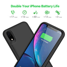 Load image into Gallery viewer, Best iPhone XR Battery Case - Free Next Day Delivery