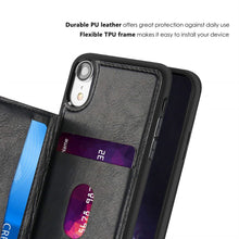 Load image into Gallery viewer, Best iPhone XR Card Wallet Case - Free Next Day Delivery