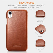 Load image into Gallery viewer, Best iPhone XR Luxury Leather Case - Free Next Day Delivery