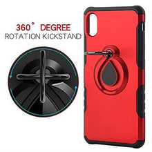 Load image into Gallery viewer, iPhone XR Metal Ring Holder Case