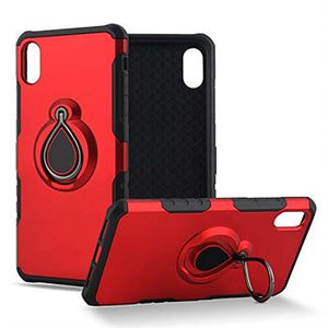 iPhone XR Metal Ring Holder Case