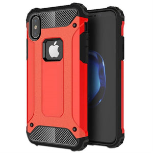 iPhone XS Red Armor Case