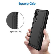 Load image into Gallery viewer, Best iPhone XS Black Case - Free Next Day Delivery