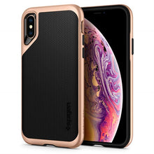 Load image into Gallery viewer, iPhone XS Gold Hard Case