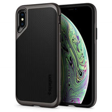 Load image into Gallery viewer, iPhone XS Grey Hard Case