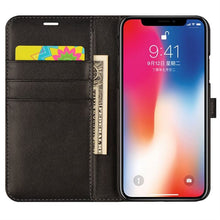 Load image into Gallery viewer, Best iPhone XS Leather Case - Free Next Day Delivery