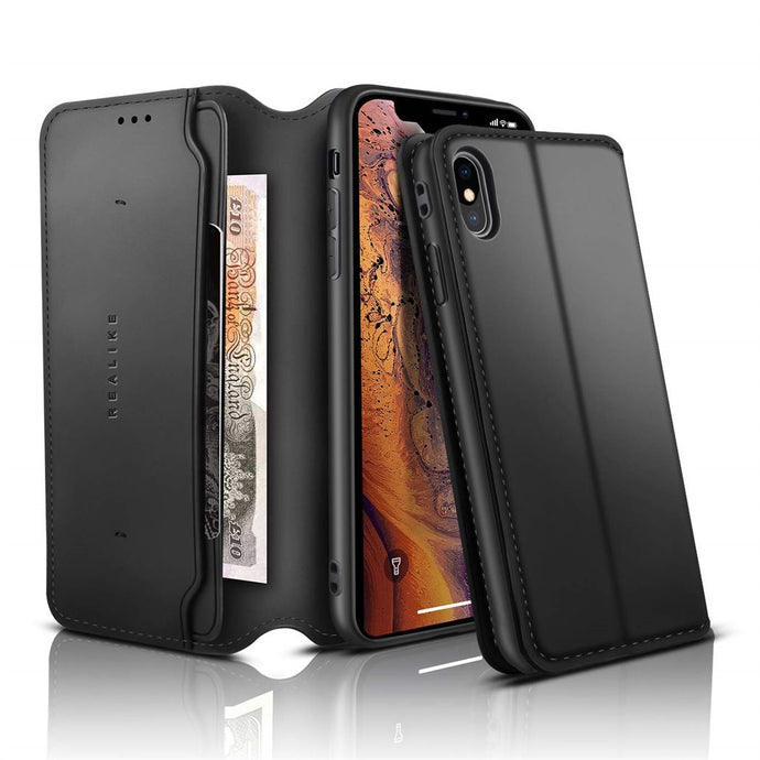 Best iPhone XS Leather Wallet Case - Free Next Day Delivery