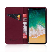 Load image into Gallery viewer, Best iPhone XS Premium Leather Case - Free Next Day Delivery