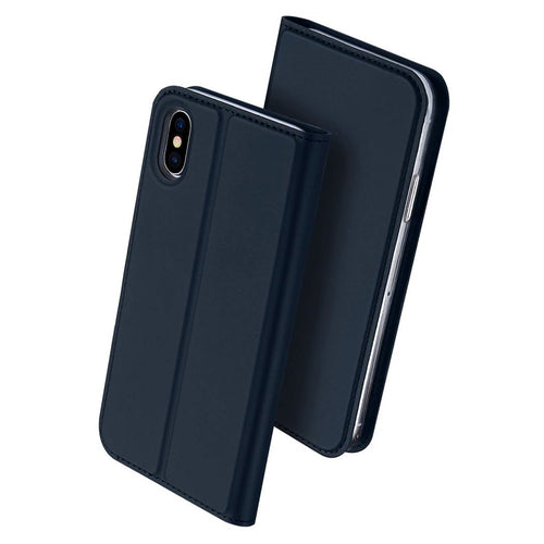 iPhone XS Slim Leather Case