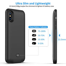 Load image into Gallery viewer, Best iPhone X power bank case - Free Next Day Delivery