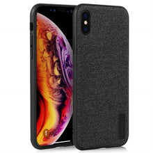 Load image into Gallery viewer, Best iPhone X Fabric Texture Case - Free Next Day Delivery