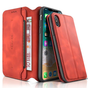 Best iPhone X Leather Wallet Case - Free Next Day Delivery