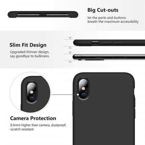 Best iPhone X Silicone Case - Free Next Day Delivery