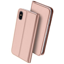 Load image into Gallery viewer, Best iPhone X Slim Leather Case - Free Next Day Delivery