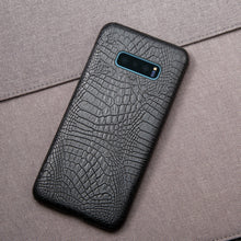 Load image into Gallery viewer, Best Samsung S10E Crocodile Leather Case - Free Next Day Delivery