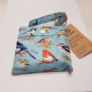 Eco Chic Foldable Shopper Garden Birds