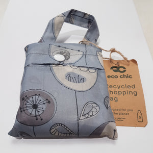 Eco Chic Foldable Shopper 50's ditsy