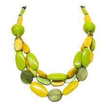 Load image into Gallery viewer, Park Lane Wood and Resin Jewellery Set - SPECIAL OFFER - Available in 3 colours
