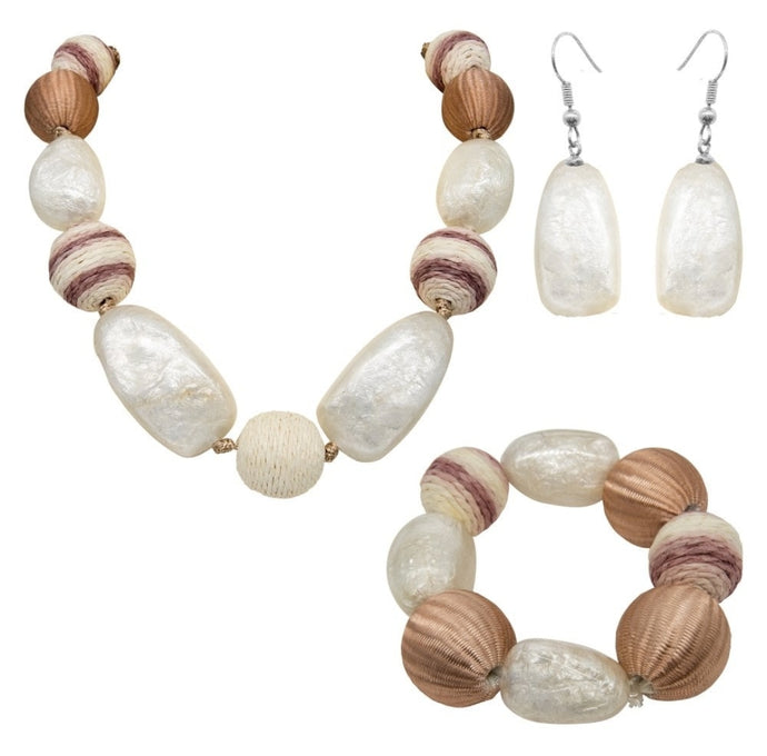 Park Lane Natural Resin Jewellery Set SPECIAL OFFER