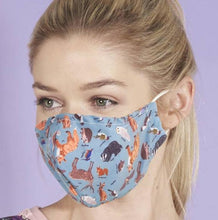 Load image into Gallery viewer, Eco Chic reusable face mask - Various patterns - Pursenalities_uk