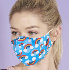 Eco Chic reusable face mask - Various patterns - Pursenalities_uk