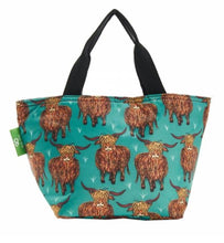 Load image into Gallery viewer, Eco Chic Lunch Bag- Various designs available - Pursenalities_uk