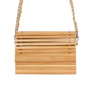 Bamboo Chic Crossbody Bag - Various Colours