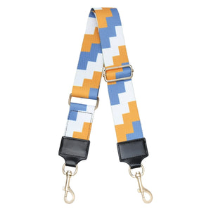 Bag Strap - Blocks - Various Colours - Pursenalities_uk