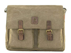 Cactus Large Satchel with Double Pockets