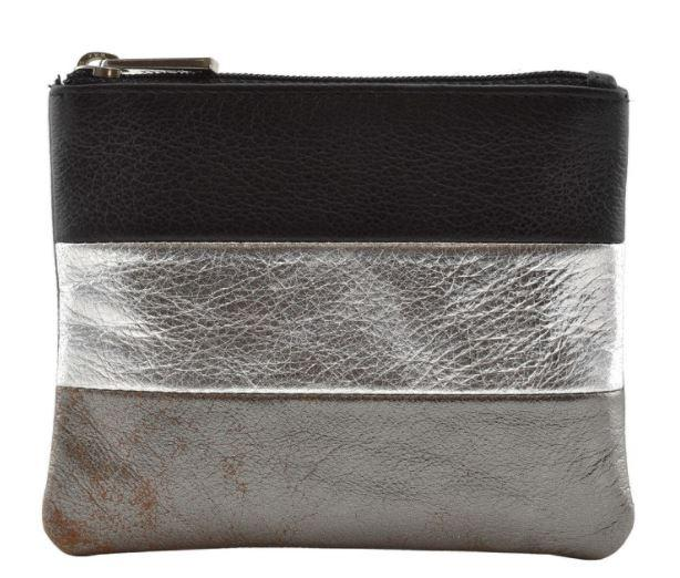 Mala Burchell Metallic Coin Purse with RFID
