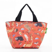 Load image into Gallery viewer, Eco Chic Lunch Bag Woodland Creatures
