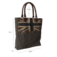 Load image into Gallery viewer, Bolla Bags - Dorset Bay - The Journey Awaits Union Jack