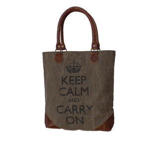 Bolla Bags - Dorset Bay - Keep Calm and Carry on