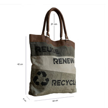 Load image into Gallery viewer, Bolla Bags - Dorset Bay - Reuse, Renew, Recycle - Pursenalities_uk
